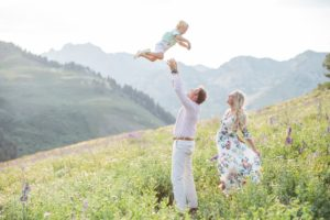 Maternity Photos from Albion Basin, UT