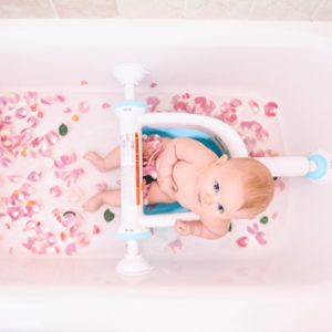 Making Bath Time Less Stressful with Baby
