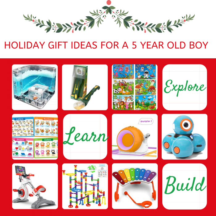 A 2019 Holiday Gift Guide For a 5 Year Old Boy