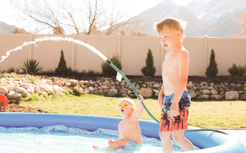 Pandemic Quarantine Family Pool Party – Backyard Activities and Ideas