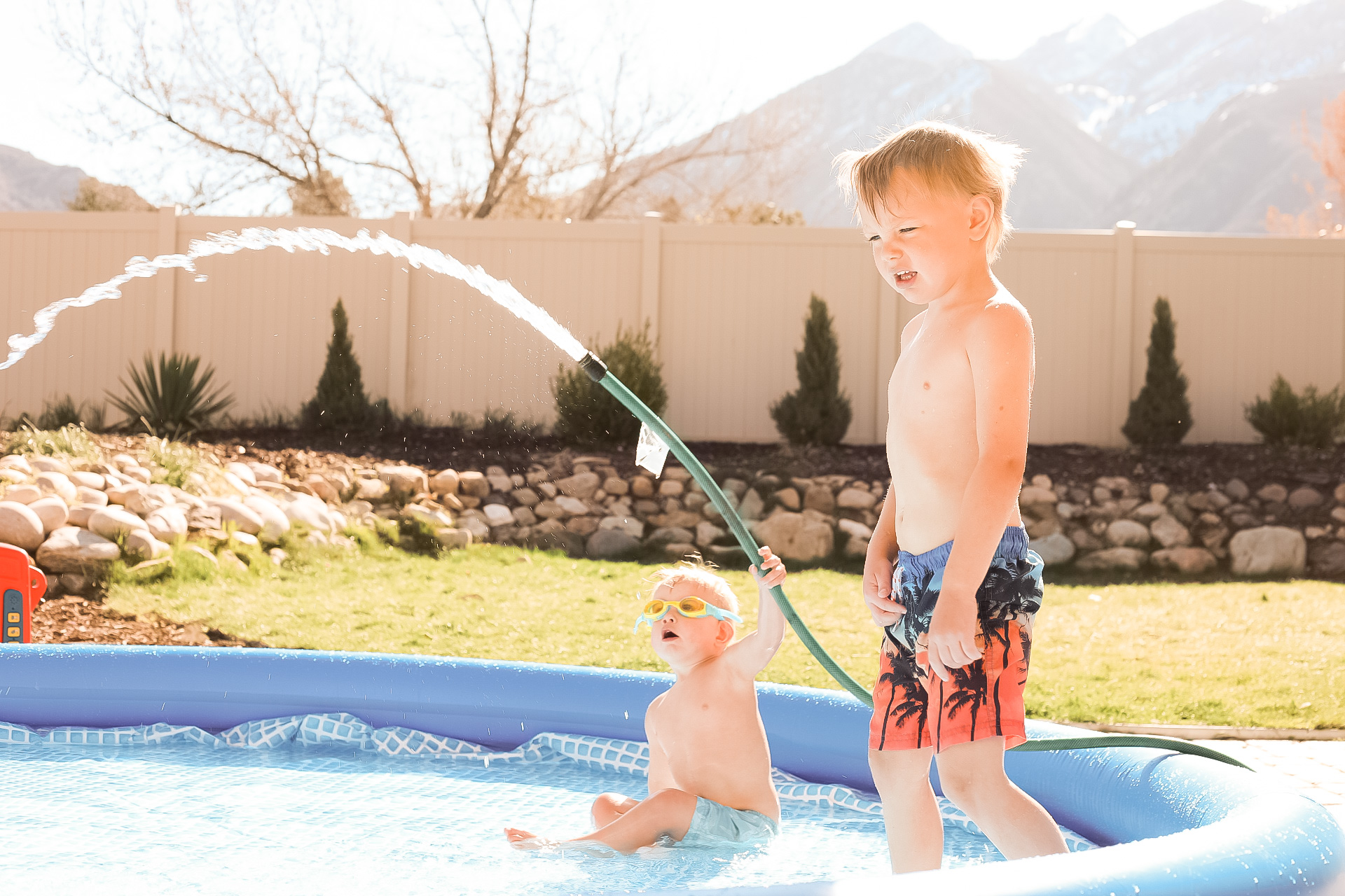 Pandemic Quarantine Family Pool Party Backyard Activities And Ideas